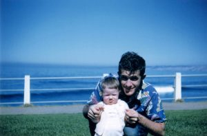 Dad and Janice La Jolla Cove