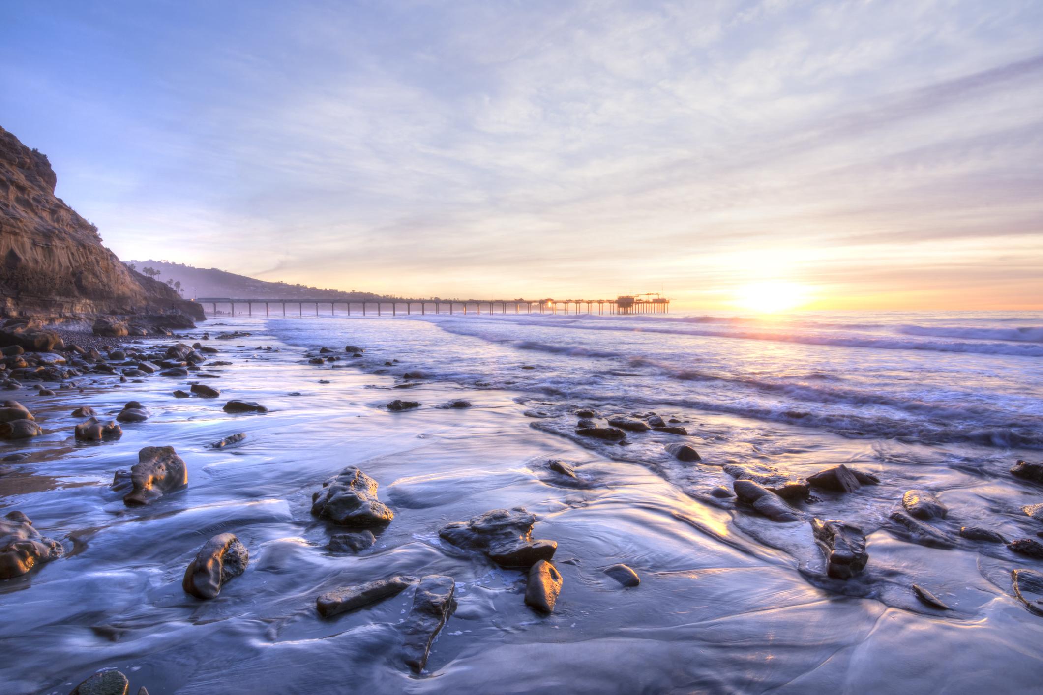 La Jolla Shores beach