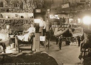 original fireplace Green Dragon Colony